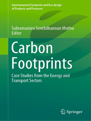cover image of Carbon Footprints