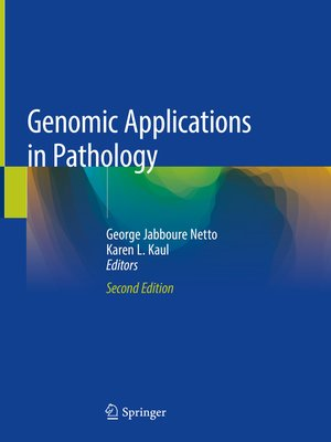 cover image of Genomic Applications in Pathology