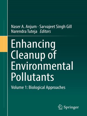 cover image of Enhancing Cleanup of Environmental Pollutants, Volume 1