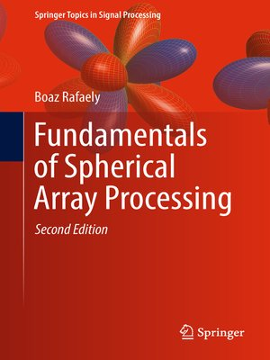 cover image of Fundamentals of Spherical Array Processing