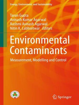 cover image of Environmental Contaminants