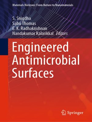 cover image of Engineered Antimicrobial Surfaces