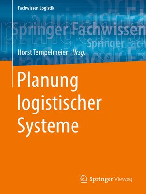 cover image of Planung logistischer Systeme