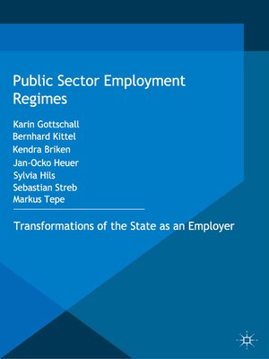 cover image of Public Sector Employment Regimes