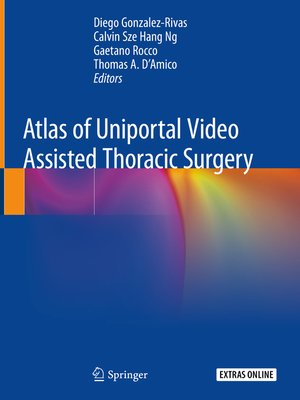 cover image of Atlas of Uniportal Video Assisted Thoracic Surgery
