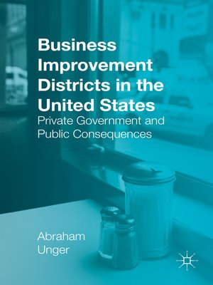 cover image of Business Improvement Districts in the United States