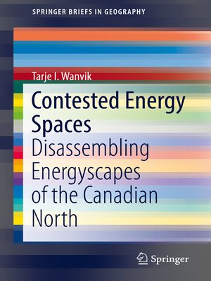 cover image of Contested Energy Spaces
