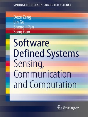 cover image of Software Defined Systems