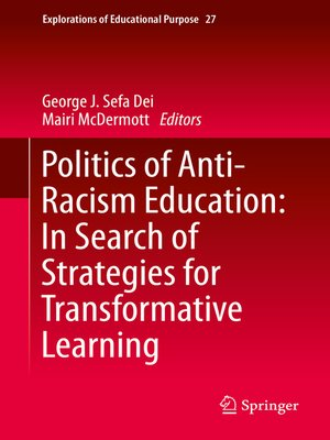 cover image of Politics of Anti-Racism Education
