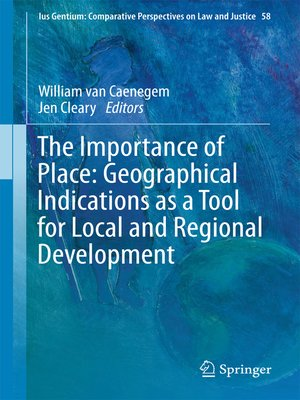 cover image of The Importance of Place