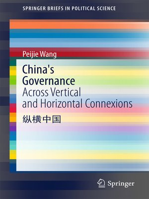 cover image of China's Governance