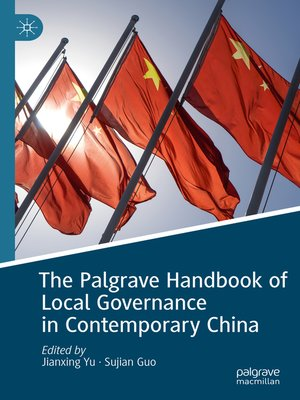 cover image of The Palgrave Handbook of Local Governance in Contemporary China