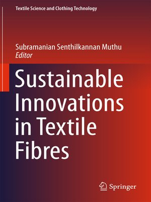 cover image of Sustainable Innovations in Textile Fibres