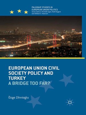 cover image of European Union Civil Society Policy and Turkey