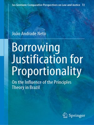 cover image of Borrowing Justification for Proportionality