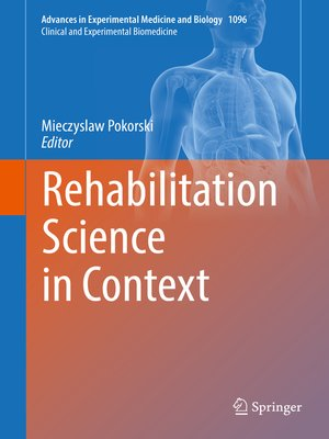 cover image of Rehabilitation Science in Context