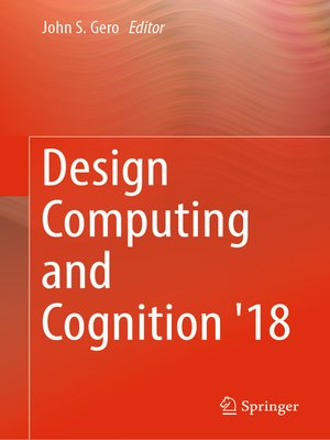 cover image of Design Computing and Cognition '18