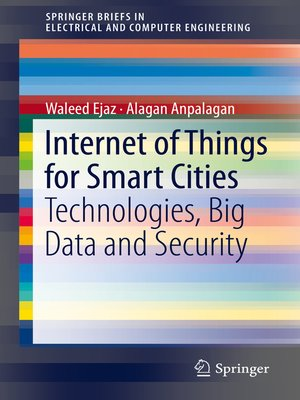 cover image of Internet of Things for Smart Cities
