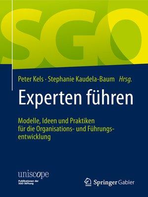 cover image of Experten führen