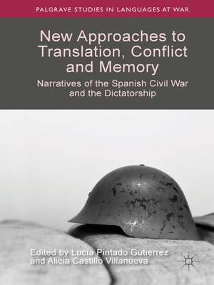 cover image of New Approaches to Translation, Conflict and Memory