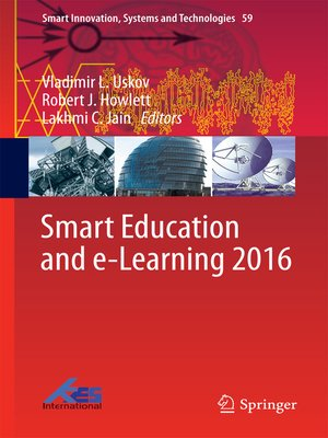 cover image of Smart Education and e-Learning 2016