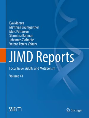 cover image of JIMD Reports, Volume 41