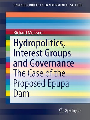 cover image of Hydropolitics, Interest Groups and Governance