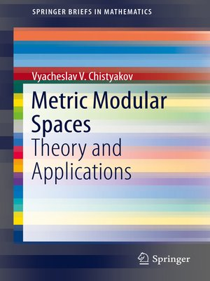 cover image of Metric Modular Spaces