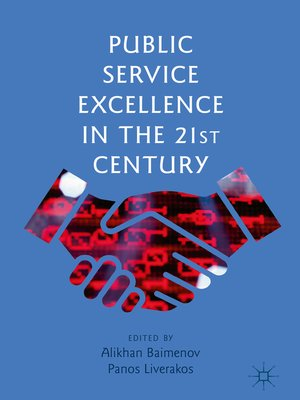 cover image of Public Service Excellence in the 21st Century