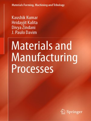 cover image of Materials and Manufacturing Processes