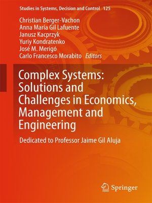 cover image of Complex Systems