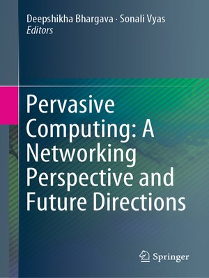 cover image of Pervasive Computing