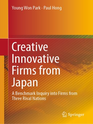 cover image of Creative Innovative Firms from Japan