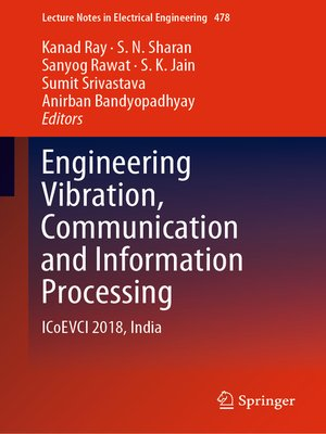cover image of Engineering Vibration, Communication and Information Processing
