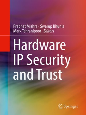 cover image of Hardware IP Security and Trust