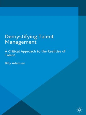 cover image of Demystifying Talent Management