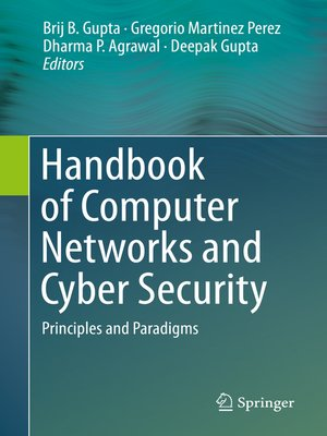 cover image of Handbook of Computer Networks and Cyber Security