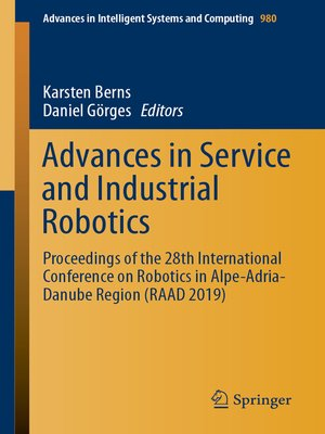 cover image of Advances in Service and Industrial Robotics