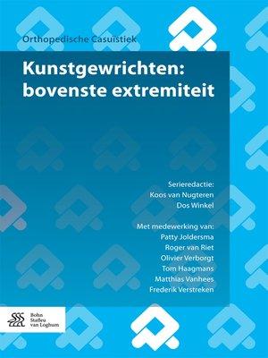 cover image of Kunstgewrichten