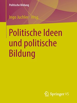 cover image of Politische Ideen und politische Bildung