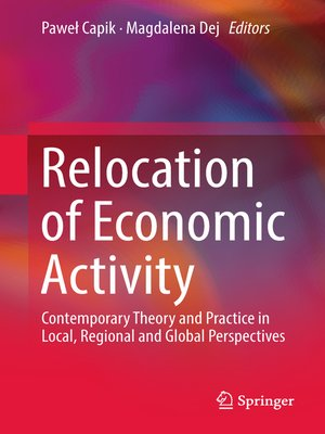 cover image of Relocation of Economic Activity