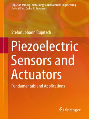cover image of Piezoelectric Sensors and Actuators