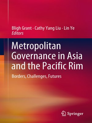 cover image of Metropolitan Governance in Asia and the Pacific Rim
