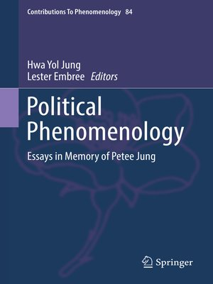 cover image of Political Phenomenology