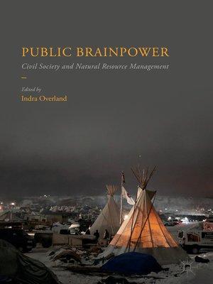 cover image of Public Brainpower