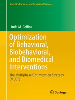 cover image of Optimization of Behavioral, Biobehavioral, and Biomedical Interventions
