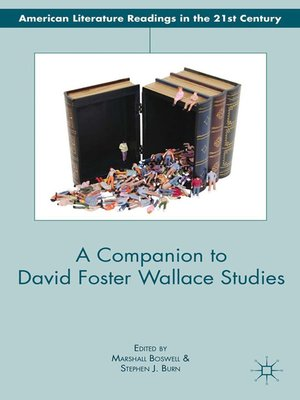 cover image of A Companion to David Foster Wallace Studies