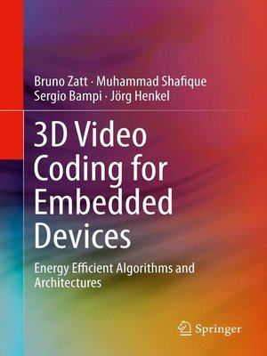 cover image of 3D Video Coding for Embedded Devices