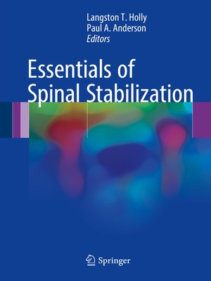 cover image of Essentials of Spinal Stabilization