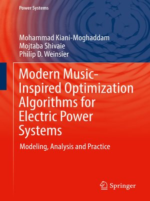 cover image of Modern Music-Inspired Optimization Algorithms for Electric Power Systems